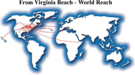 From Virginia Beach - World Reach
